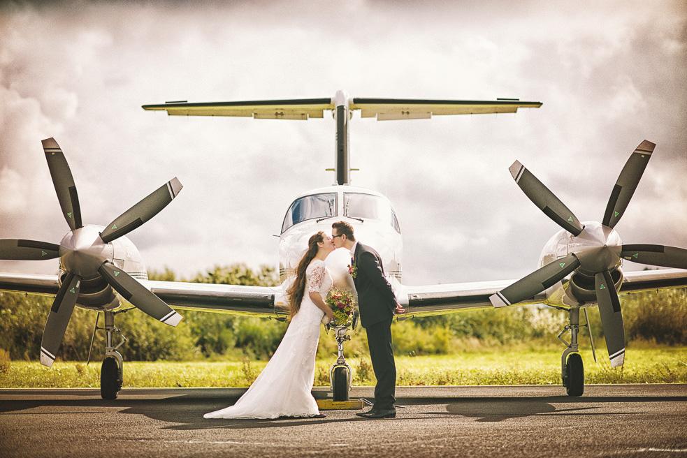 Brautpaarshooting NRW Flughafen H&M Hochzeitsfotograf Florin Miuti (1)