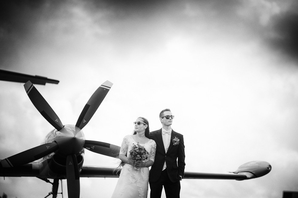 Brautpaarshooting NRW Flughafen H&M Hochzeitsfotograf Florin Miuti (14)