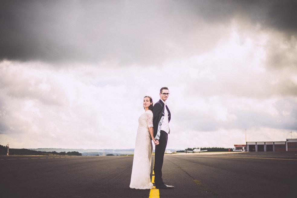 Brautpaarshooting NRW Flughafen H&M Hochzeitsfotograf Florin Miuti (27)